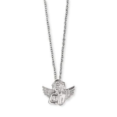 Herzengel HEN-ANGELO Silber-Halskette für Kinder Engel