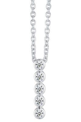 IUN Silver Couture AN005-WW Collier Silber 925 Zirkonia