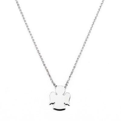 Amen CLAB3 Damen-Halskette Engel 925 Silber
