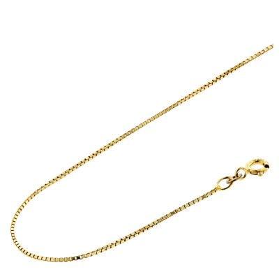 Acalee 10-2009 Halskette 333 Gold / 8 Karat Venezianer-Kette 0,9 mm
