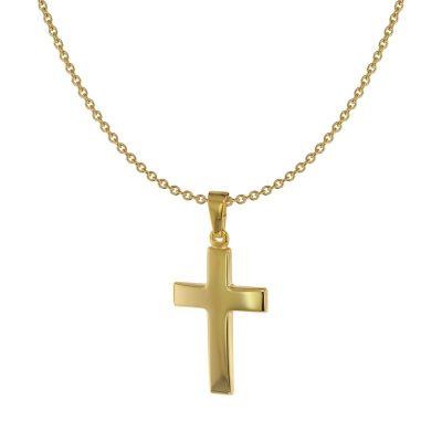 Acalee 20-1212 Halskette mit Kreuz Gold 333 / 8 Karat