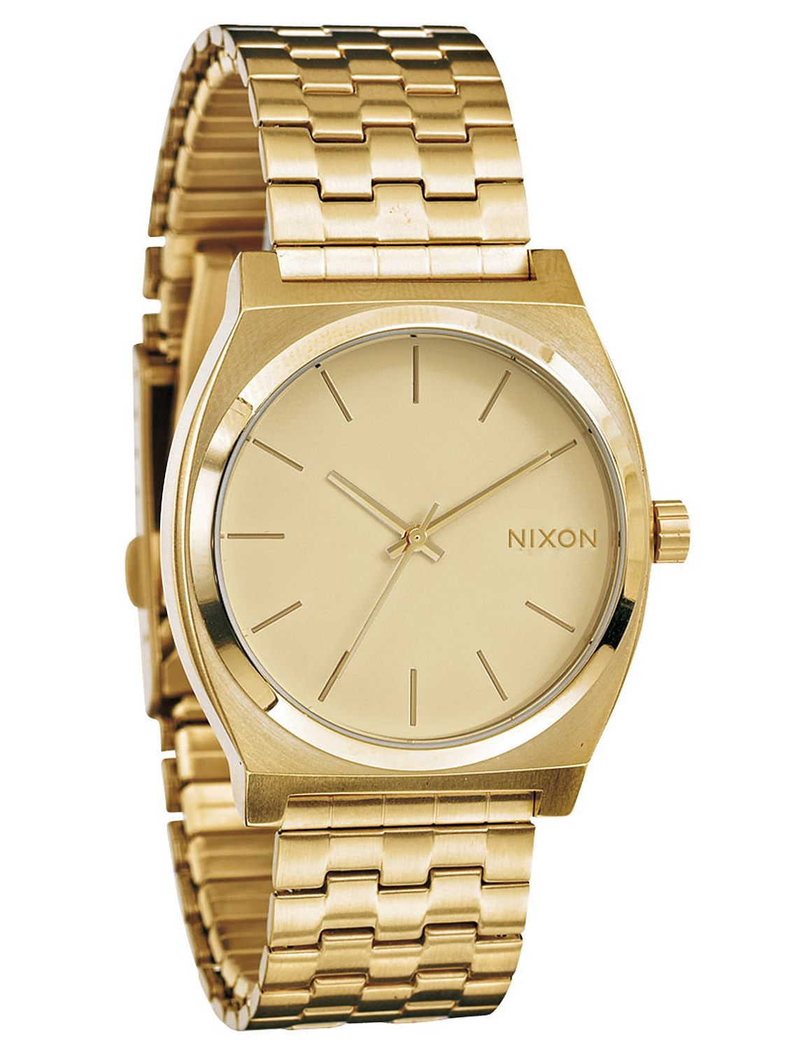nixon a045 511 time teller all gold mens
